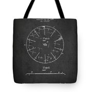 Circular Saw Patent Drawing From 1899 Tote Bag