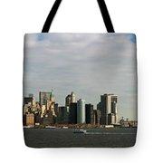 City At The Waterfront, New York City Tote Bag