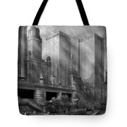 City - Chicago Il - Continuing A Legacy Tote Bag