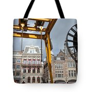 City Of Amsterdam Urban Scenery Tote Bag