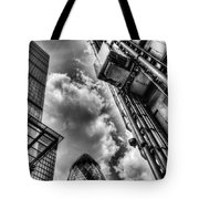 City Of London Iconic Buildings Tote Bag