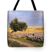 Cityscape Of Fes In Morocco Tote Bag