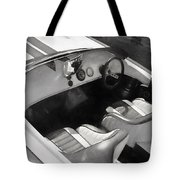 Classic Boat In Black And White Tote Bag