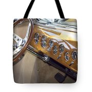 Classic Car Interior Tote Bag