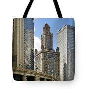 Classic Chicago -  The Jewelers Building Tote Bag