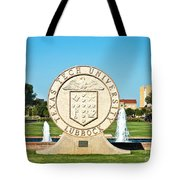 Classical Image Of The Texas Tech University Seal  Tote Bag
