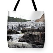 Clayton Lake Spillway Tote Bag