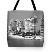 Clearwater Beach Florida Tote Bag
