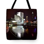 Cleveland Lakefront Tote Bag