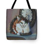 Clockwork Cat Tote Bag