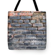 Close-up Of Old Brick Wall Tote Bag