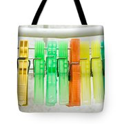 Clothes Pegs Tote Bag
