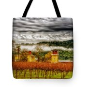 Clouds Over Napa Valley Tote Bag