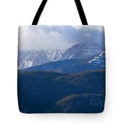 Cloudy Peak Tote Bag