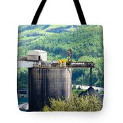 Coal Mine Electrical Energy Power Plant In Nature Tote Bag