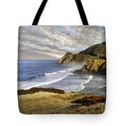 Coastal Beauty Impasto Tote Bag