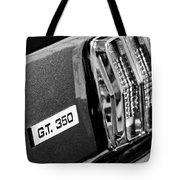 Cobra Gt 350 Taillight Emblem Tote Bag