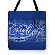 Coca Cola Blues Tote Bag