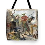 Colonial Blacksmith, 1776 Tote Bag