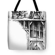 Colonial Hoist Tote Bag