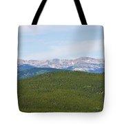Colorado Continental Divide 5 Part Panorama 1  Tote Bag