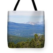 Colorado Continental Divide 5 Part Panorama 5 Tote Bag