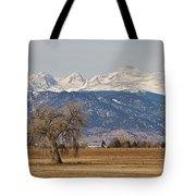 Colorado Front Range Continental Divide Panorama Tote Bag by James BO  Insogna