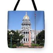 Colorado State Capitol Building Denver Tote Bag