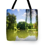 Colorful Autumn Summer Park Tote Bag
