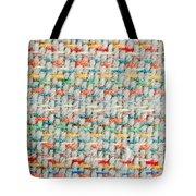 Colorful Blanket Tote Bag