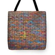 Colorful Brick Wall Texture Tote Bag