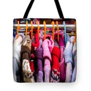 Colorful Coats Tote Bag