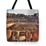 Colosseum In Rome Tote Bag