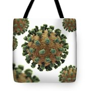 Common Cold Virus Tote Bag