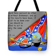 Confederate States Of America Robert E Lee Tote Bag