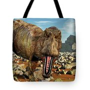 Confrontation With A Carnivorous Tote Bag