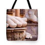 Constantine Foot Tote Bag