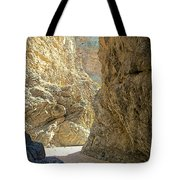 Contrasting Canyon Colors In Big Painted Canyon Trail In Mecca Hills-ca Tote Bag