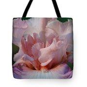 Ruffled Coral Tote Bag