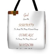1 Corinthians 13 13 Find Serenity With Faith Hope And Love Tote Bag