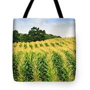 Corn Field Tote Bag by Elena Elisseeva