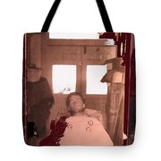 Corpse Bullet Holes Train Robber Cole Estes Aka Cole Young 1872-1896 Collage 1896-2012  Tote Bag