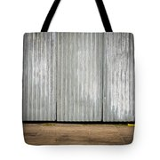 Corrugated Metal Tote Bag