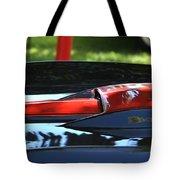 Corvette Torch Tote Bag