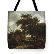 Cottages In A Wood Tote Bag