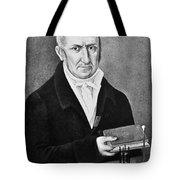 Count Alessandro Volta (1745-1827) Tote Bag
