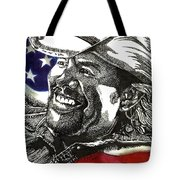 Courtesy Of The Red White And Blue Tote Bag