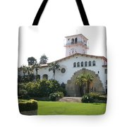 Courthouse Santa Barbara Tote Bag