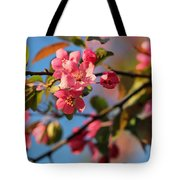 Crab Apple Tote Bag