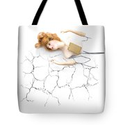 Cracked And Broken Tote Bag